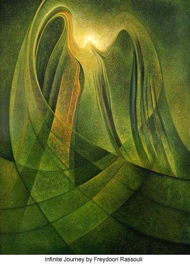 Infinite Journey by Freydoon Rassouli