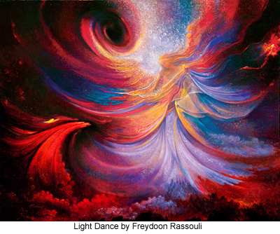 Light Dance by Freydoon Rassouli
