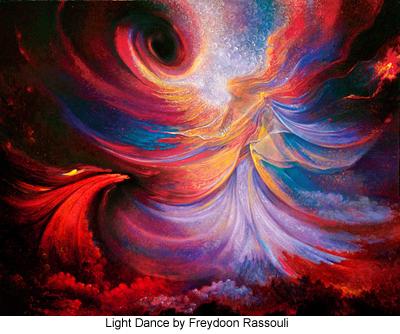 Light Dance by Freydoon Rassouli