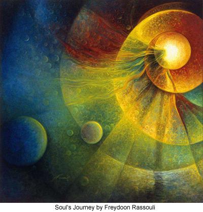 Soul's Journey by Freydoon Rassouli