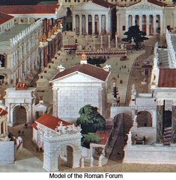 Model of the Roman Forum