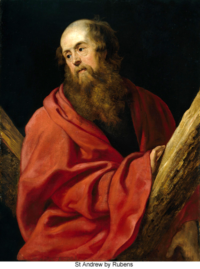 St Andrew by Rubens