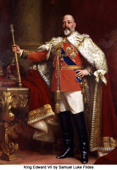 King Edward VII by Samuel Luke Fildes