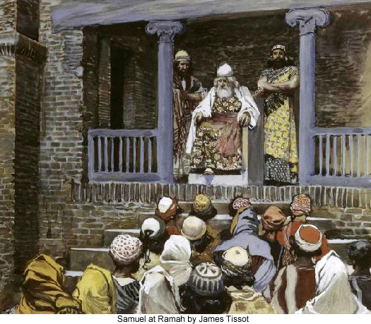 Joshua and The Five Kings by James Tissot