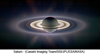 Saturn - (Cassini Imaging Team/SSI/JPL/ESA/NASA)