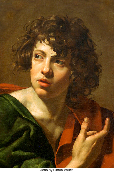 John by Simon Vouet