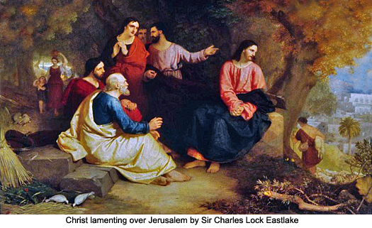 Christ lamenting over Jerusalem by Sir Charles Lock Eastlake