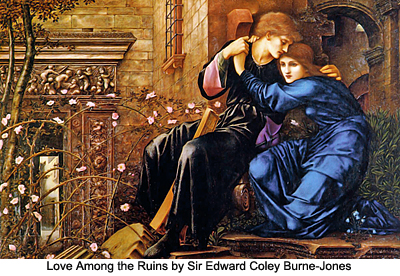 Love among the Ruins by Sir Edward Coley Burne-Jones
