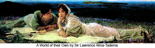 A World of their Own by Sir Lawrence Alma-Tadema
