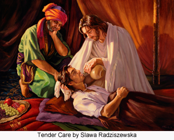 Tender Care by Slawa Radziszewska
