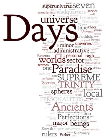 The Urantia Book: Paper 18. The Supreme Trinity Personalities