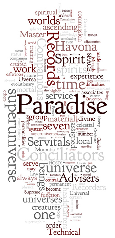 The Urantia Book: Paper 25. The Messenger Hosts of Space