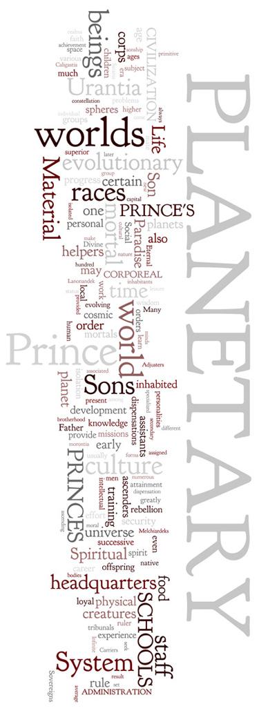 The Urantia Book: Paper 50. The Planetary Princes