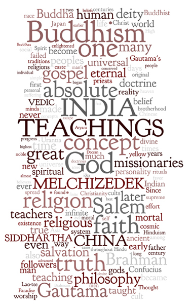 The Urantia Book: Paper 94. The Melchizedek Teachings in the Orient
