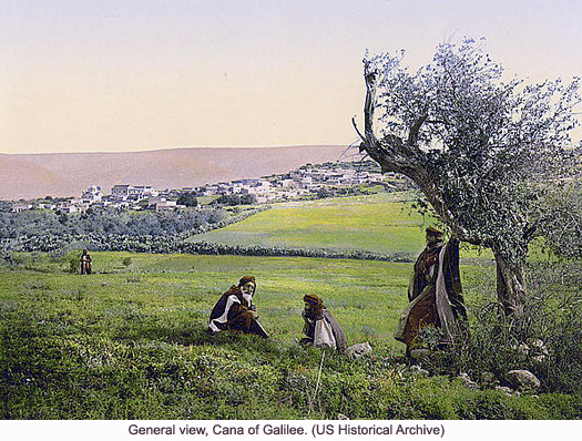Cana of Galilee, photograph