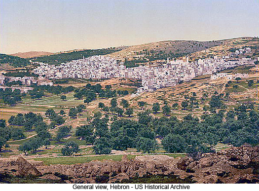 General view, Hebron, photograph