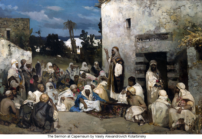 The Sermon at Capernaum by Vasily Alexandrovich Kotarbinsky