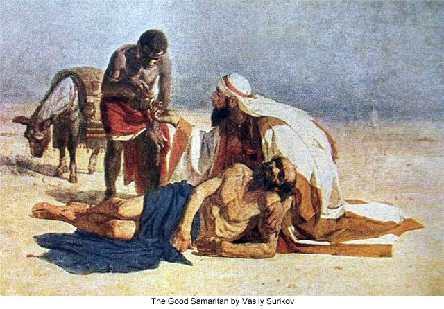 The Good Samaritan by Vasily Surikov