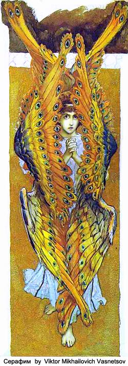 Seraphin by Viktor Mikhailovich Vasnetsov