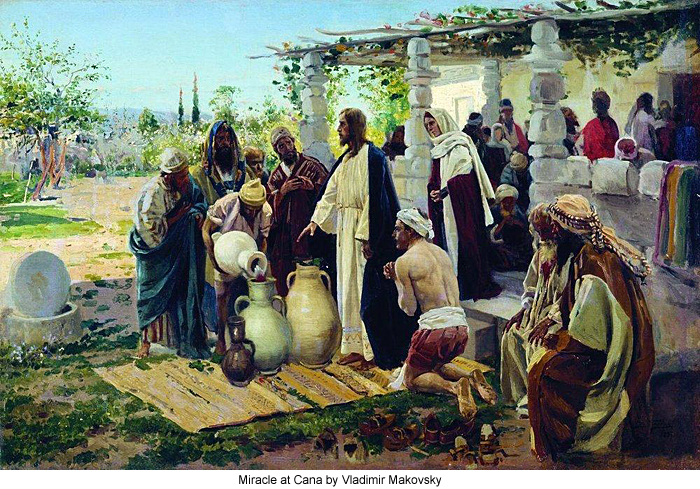 Wedding Feast At Cana.The Wedding At Cana
