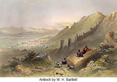 Antioch by W.H. Bartlett