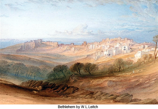 Bethlehem by W. L. Leitch