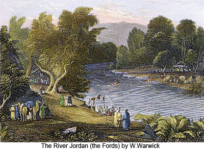 The River Jordan (the Fords) by W. Warwick