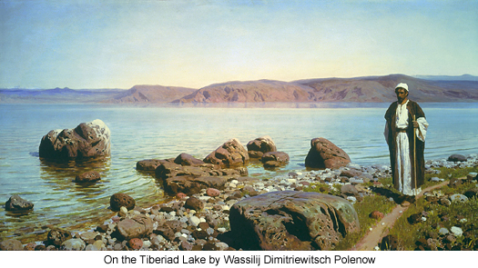 On the Iberiad Lake by Wassilij Dimitriewitsch Polenow