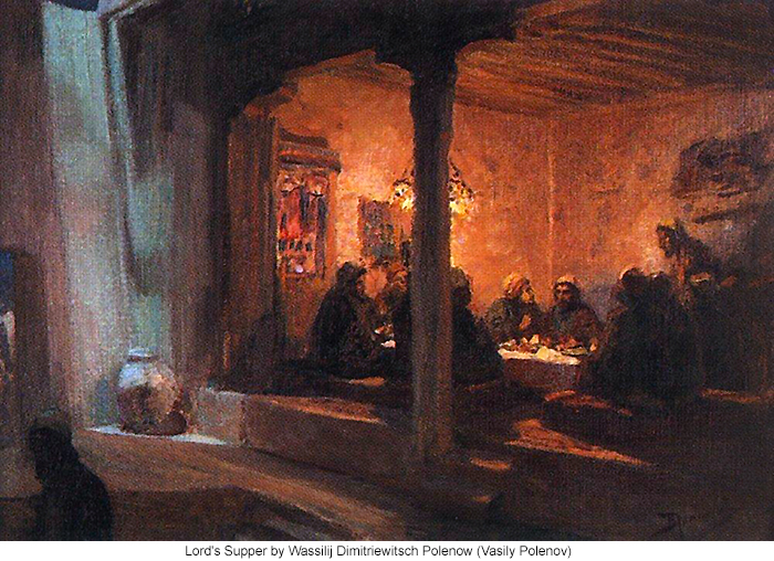 Lord's Supper by Wassilij Dimitriewitsch Polenow (Vasily Polenov)