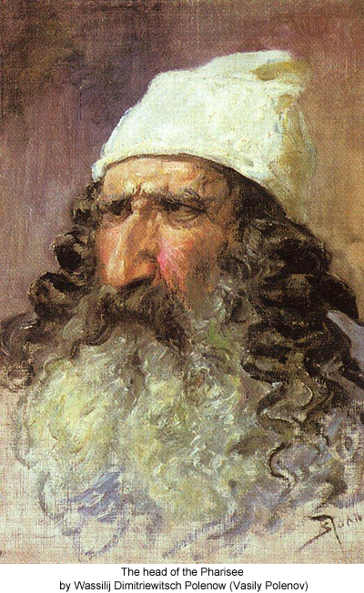 The head of the Pharisee by Wassilij Dimitriewitsch Polenow (Vasily Polenov)