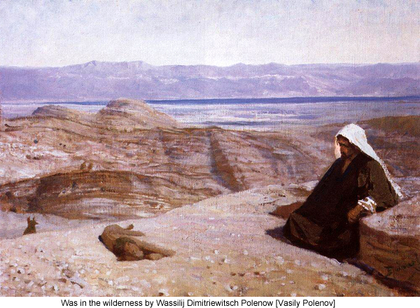 Was in the wilderness by Wassilij Dimitriewitsch Polenow [Vasily Polenov]