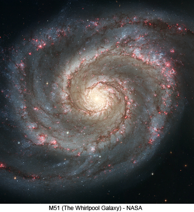 M51 Whirlpool Galaxy - NASA