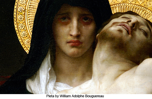 Pieta by William Adolphe Bouguereau