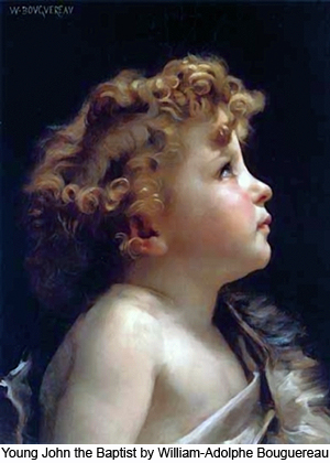 Young John the Baptist by William-Adolphe Bouguereau