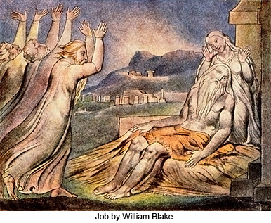 Job by William Blake