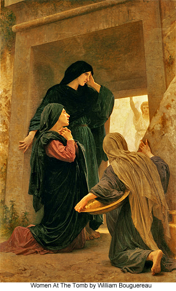 Women at the Tomb by William Bouguereau
