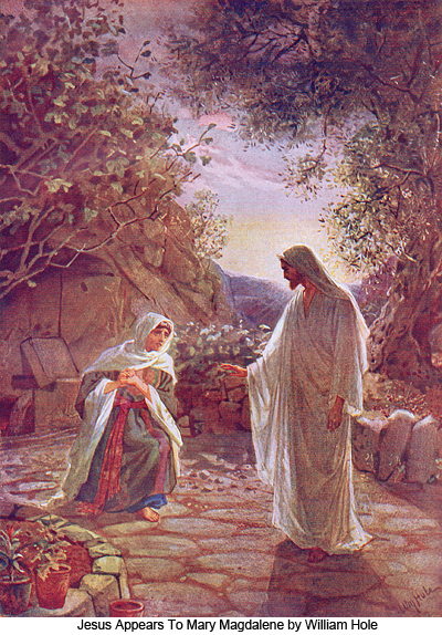 Jesus Appears To Mary Magdalene by William Hole
