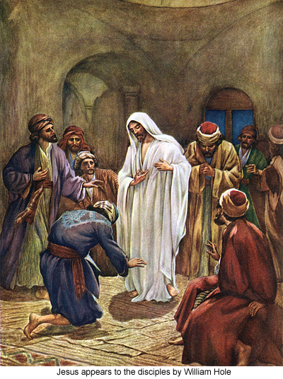 Jesus Appears to the Disciples by William Hole