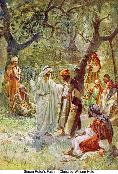 Simon Peter's Faith in Christ by William Hole