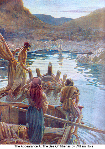 Jesus Appears At The Sea Of Galilee - Another Draught Of Fishes ...