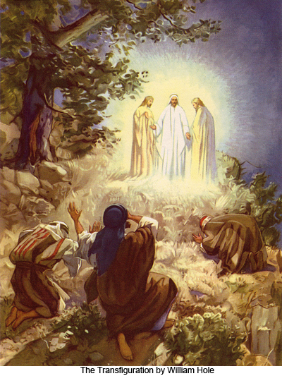The Transfiguration of Christ by William Hole