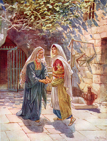 The Visitation by William Hole