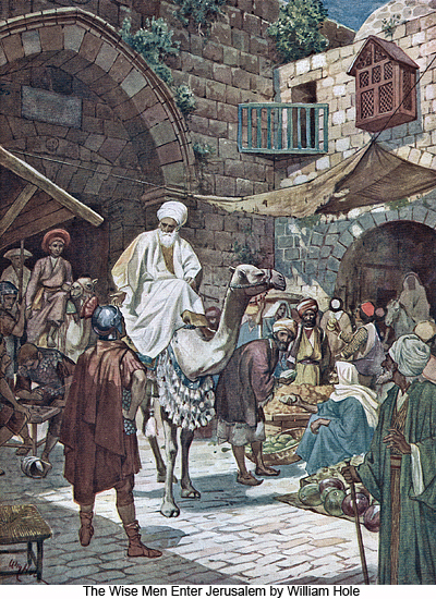 The Wise Men Enter Jerusalem by William Hole