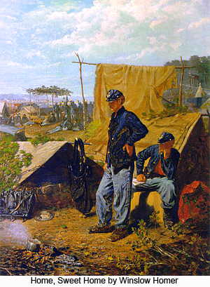 Home, Sweet Home by Winslow Homer