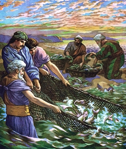 Disciples Fishing