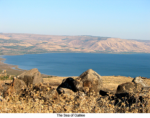 The Sea of Galilee, photograph