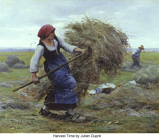 Harvest Time by Julien Dupre