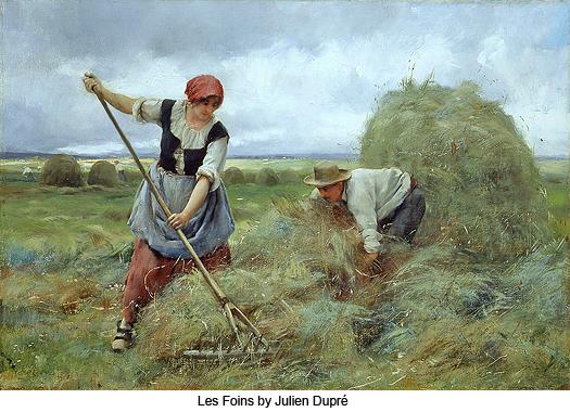 Les Foins by Julien Dupre