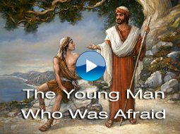 The Young Man Who Was Afraid by Russ Docken