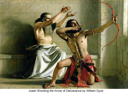 Joash Shooting the Arrow of Deliverance by William Dyce
